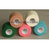 Wholesale Easy Tear Colored Self - adherent Cotton Elastic Bandage For Body Parts Wrapping from china suppliers
