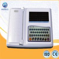 China Me3312g 7 Inch Portable Digital ECG Machine 12 Channel Record Top Sell Electrocardiograph on sale