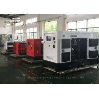 Water Cooled Diesel Canopy Generator Set Six Cylinder For Industrial for sale