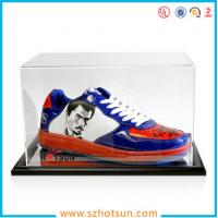 Wholesale best selling good quality high clear acrylic shoe display box,modern design lucid shoe holder storage clear acrylic shoe from china suppliers