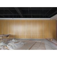 Multi Color Restaurant Partition Wall System With Aluminium Trolley Sliding Folding Doors
