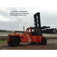 China DCD450-12G Used Container Handler , Shipping Container Lift Truck on sale