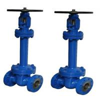 China Bellow Seal Cast Steel Gate Valve Flanged Flexible Wedge Gate Valve DIN Standard on sale