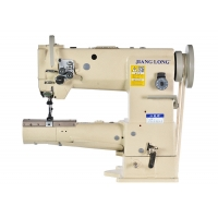 Wholesale 10.5mm Stitch Vertical Hook DP17 Double Needle Sewing Machine from china suppliers