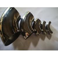 China Paper Plant Butt Weld Fittings Bright Satin Surface For Decoration Stable Performance for sale