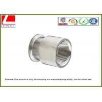 Wholesale OEM Custom Made Stainless Steel Machining Spacer Precision Machined Parts from china suppliers