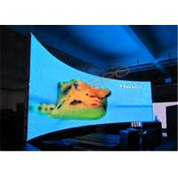 China Big P5 Curved LED Screen Video Wall For Events / Stage High Refresh Rate on sale