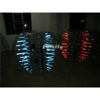 China Led Light Shinning Inflatable Bubble Ball PVC / TPU For Play Soccer on sale