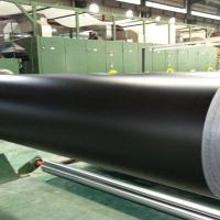 Wholesale 2.0mm black matt pvc belt two ply from china suppliers