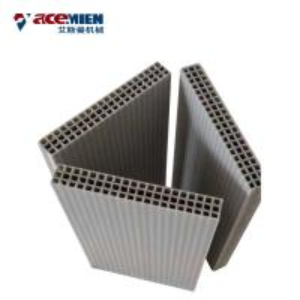 China Concrete Wall Extrusion Machine , Hollow Plastic Concrete Formwork Machine on sale