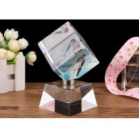 Wholesale DIY Crystal Decoration Crafts , Home Decoration Crystal Glass Ornament Crafts from china suppliers