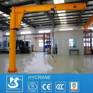 China Fixed Column 1ton 3ton 5ton 10ton Pillar Mounted Free Standing Jib Crane Portable Jib Crane on sale