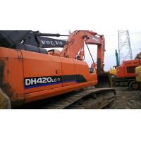 Quality DOOSAN DH420LC-7 USED EXCAVATOR FOR SALE CHINA for sale