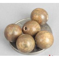 Wholesale hand polished natural aroma beads 12mm palo santo beads with hole loose DIY beads from china suppliers