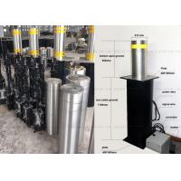 Wholesale Remote Control Cast Lift Bollards , Electric Hydraulic Rising Steel Bollards from china suppliers