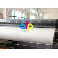 Wholesale Transparent Holographic Bopp Lamination Film 26micron Standard / Customized Pattern from china suppliers