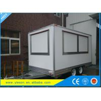 China Custom Mobile Kitchens & Concession Trailers Built For Your Needs BBQ Trailer Mobile Food Trailer on sale