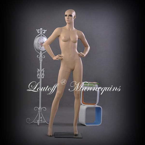 Quality LOUTOFF Female Mannequin Realistic Mannequin EVA-01 for sale