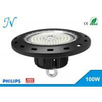 Buy cheap 100W UFO LED High Bay Lights AC 90-305V With MEANWELL Driver , High Bay Led Lights from Wholesalers