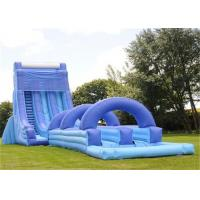 Buy cheap Giant Inflatable Water Slide , Adult Size Inflatable Water Slide from wholesalers