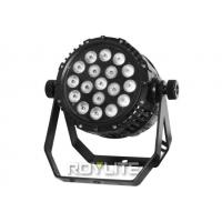 Wholesale IP65 18 x 10w RGBW Waterproof LED Par Stage light Cans , Beam angle 25 degree from china suppliers