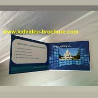 "Quality 4.3"" , 5 inch video player advertisement card,advertising video book with Touch screen for sale"