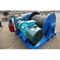 Wholesale Lightweight Wire Rope Electric Winch , Electric Winches For Lifting JKL Series from china suppliers