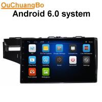China Ouchuangbo car gps navi stereo android 6.0 for Honda Fit  2014 with  microphone bluetooth music 4*45 Watts amplifier. on sale