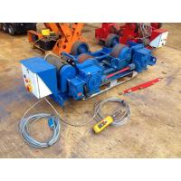 China Heavy Duty Rollers Hydraulic Bending Machine Wireless Remote Control Pipe Welding Rotator for sale