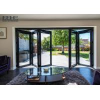 Wholesale High Strength Durable Aluminium Folding Doors With PVDF Surface Treatment from china suppliers