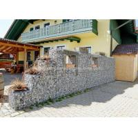 China Gabion Baskets Retaining Wall 100x120mm Mesh Size For Rock Fall Defending on sale