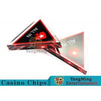 Wholesale Unique Style Casino Game Accessories , Triangular Shape Poker Playing Cards  from china suppliers