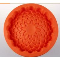 Quality round shape silicone cake pans ,silicone baking  pans , flower shape silicone pizza  pan for sale