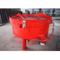 China Pan Type Concrete Mixer AC 380v 50HZ Ligtwheight Low Energy Consumption for sale