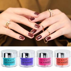 China easy remove nail powder dipping acrylic powder, Artificial Fingernails acrylic nail glitter dipping powder on sale