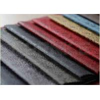 China 0.22 Kg Microfiber Suede Leather Fabric Anti Pilling 100% Polyester on sale