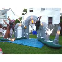 Wholesale Custom Inflatable Advertising Products Halloween Decoration Inflatable Entrance Arch from china suppliers
