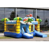 Wholesale Schildpad Air Inflatable Combo Bouncers / PVC Tarpaulin Bounce House Combo from china suppliers