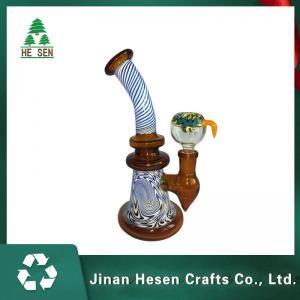 China Irregular Mini Beaker Bubbler 8 Inch Borosilicate Glass Bongs on sale