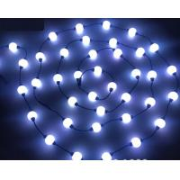 Wholesale 24V ucs1903 addressable rgb 3d curtain pixel light 50mm Led Ball dmx from china suppliers