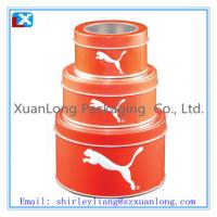 Wholesale Round Tin/Metal Can/Box for Packing Biscuits from china suppliers