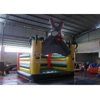 Wholesale Enjoyable Rabbit Inflatable Bouncer For Jumping / Indoor Blow Up Bouncers from china suppliers