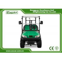 China EXCAR 2 Person Electric Golf Car Golf Course Car Curtis Controller on sale