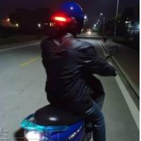Wholesale LED Wireless Helmet Turn and Brake Light for Motorcycles from china suppliers