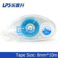 Wholesale Office Cute Double Side Permanent Glue Tape Roller Blue 10m No 202 from china suppliers