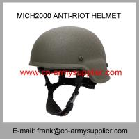 Buy cheap Wholesale Cheap China Desert Tan Mich2000 Army Police Tactical Anti-Riot Helmet from wholesalers