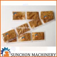 Quality Stand Up Soup Packaging Machine , Liquid Packing Oil Filling And Packing 5g for sale