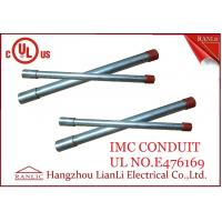 Quality White Thin Wall Steel IMC Electrical Conduit Galvanized 1-1/2 inch 1-1/4 inch for sale