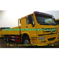 Wholesale WITH ISO CCC APPROVAL SINOTRUK  Yellow Heavy Cargo Trucks  HOWO 6 X 4 CARGO TRUCK 336HP Euro II 40T from china suppliers