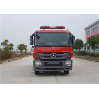 Max Power 265KW Commercial Fire Trucks Total Side Girder Structure 6500kg Water Tank